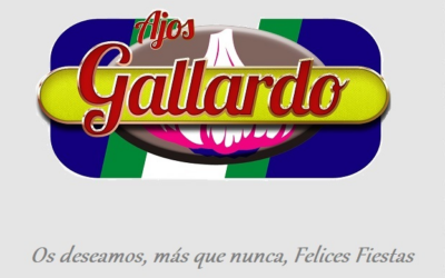 Ajos Gallardo os desea unas Felices Fiestas